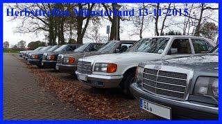 Mercedes W126 Forum Herbsttreffen im Westmünsterland