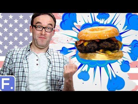 Irish People Taste American Burgers