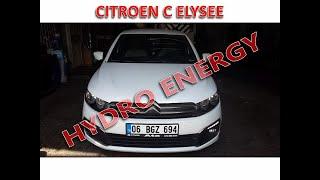 Citroen C elysee 1.6 dizel hidrojen yakıt sistem montajı