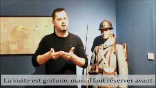 preview picture of video 'Musée de Cambrai - La mobilisation des esprits - Visite LSF'