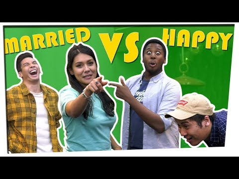 WHO IS HAPPIER? | I Should Have Known That!