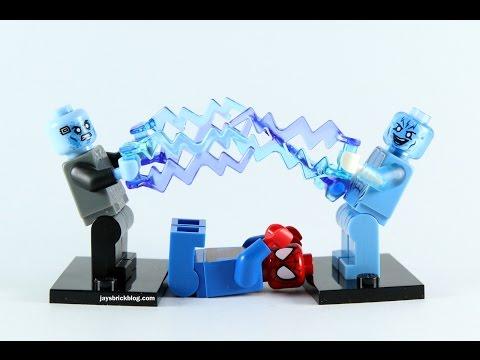 lego electro comparison - amazing spider man 2 and ultimate spider man (видео)