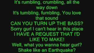 Family Force 5. Earthquake lyrics.