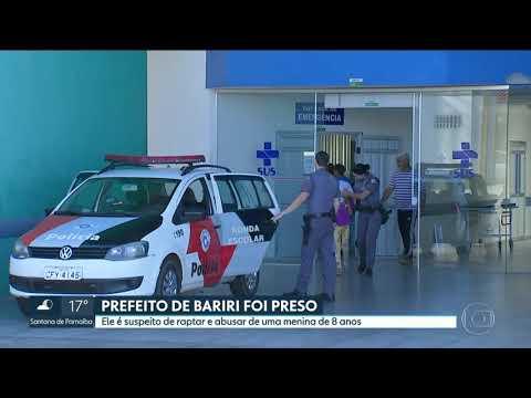 Prefeito de Bariri foi preso suspeito de raptar e abusar de menina
