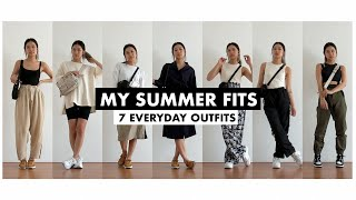 My Summer Fits | 7 Everyday Outfits