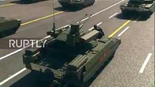 Russia: BMPT Terminator and Uranus-6 debut at Moscow V-Day Parade