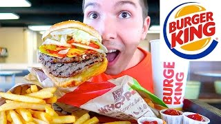 Ex-Vegan Eats Burger For The 1st Time In 10 Years • MUKBANG