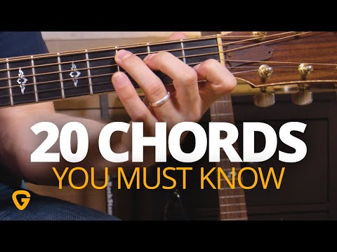 20 Chords Every REAL Guitar Player Needs To Know