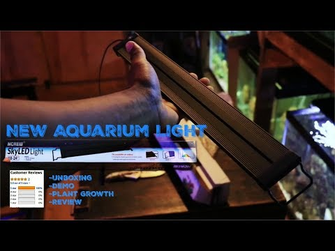 NEW Nicrew SKYLED Aquarium Light Review