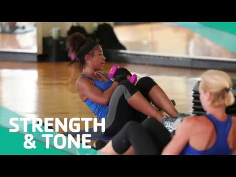 Strength and Tone - Group Exercise Class - YouTube