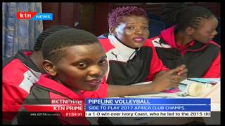 Pipeline women's volleyball team feted for 2016 success