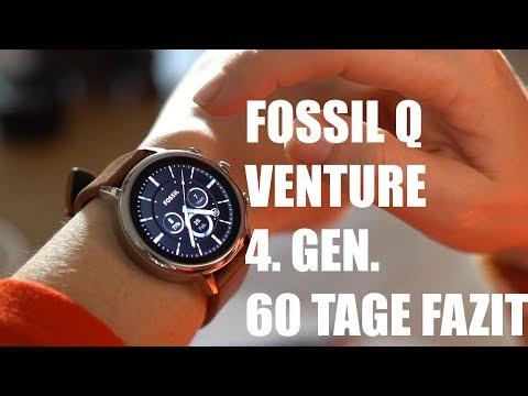 Smartwatch Fossil Q Venture  4. GENERATION - 60 Tage Fazit Damen - Deutsch
