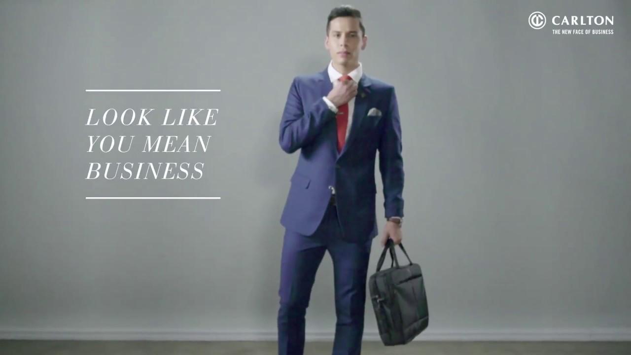 """Carlton Luggage : Fashion Tips - """"The Big Presentation Look"""""""