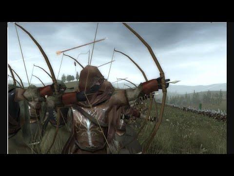 Epic Battle - Dùnedain vs Orcs - Third age total war mod - Medieval 2 By Magister