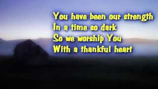 With A Thankful Heart - Don Moen (with lyrics)