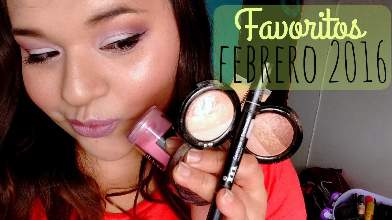 Favoritos Febrero 2016 - Demelza Makeup
