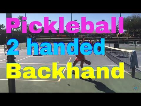 2 Handed Backhand