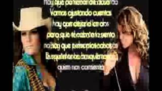 Diana Reyes ft Jenni Rivera   Ajustando Cuentascon letra)2012