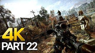 Metro Exodus Gameplay Walkthrough Part 22 - PC 4K 60FPS