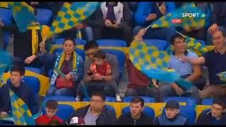 Крутой перфоманс фанатов «Астаны» на матче за выход в группу Лиги Европы с АПОЭЛом