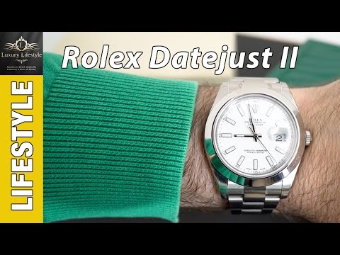 Rolex Datejust II Watch Review • Luxury Lifestyle Channel • Ref 116300