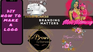 Make A Logo For Your Business On Your PHONE  | PICSART APP