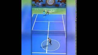 プロテニス対戦のプレイ動画
