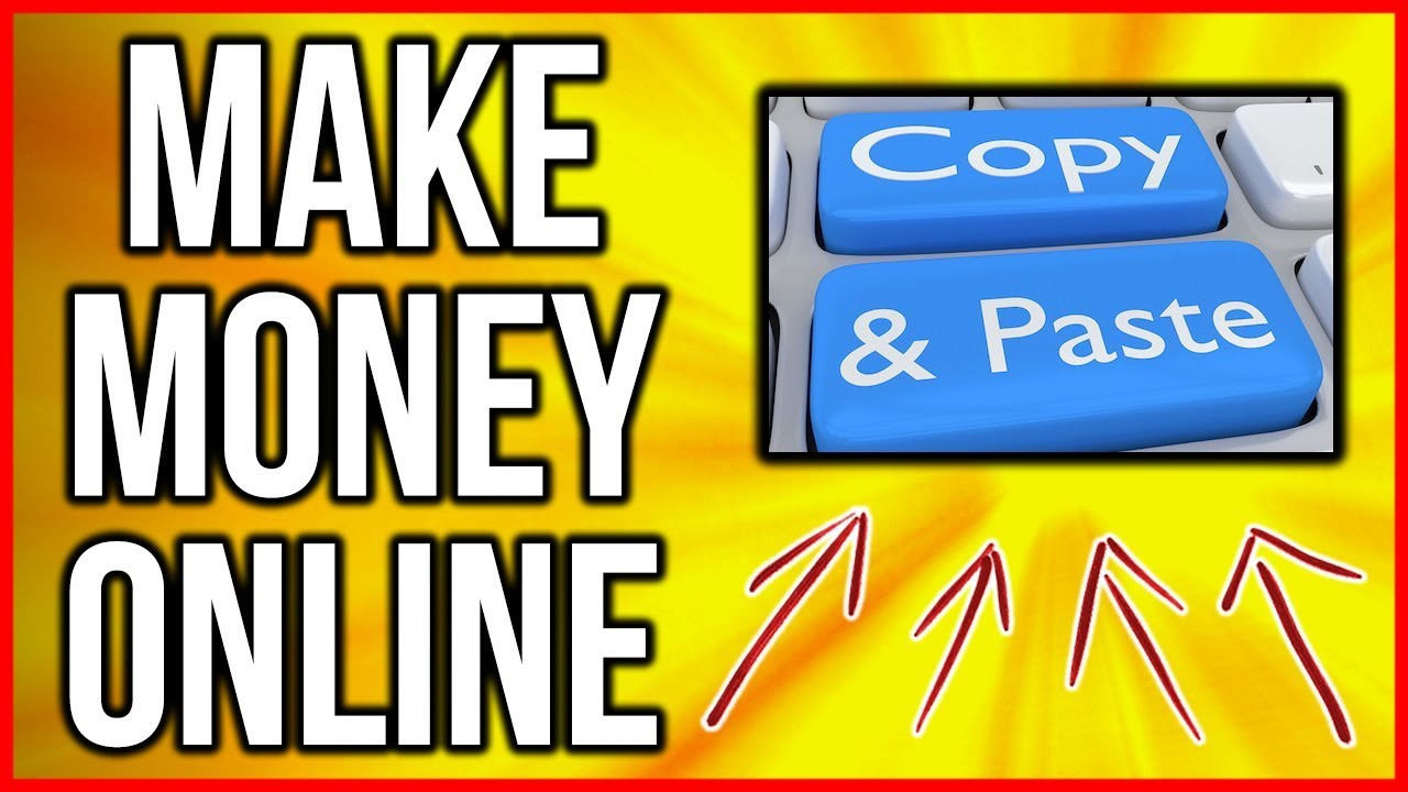 Earn Money Online With Copy And Paste (STEP BY STEP) 2018 thumbnail