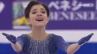 Evgenia Medvedeva - LP, Grand-prix final 2015 (RU EUROSPORT)
