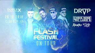 26102018 FLASH festival on tour with DROP  trailer
