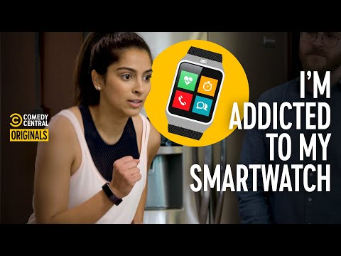 Girl Who's Too Obsessed with Her Fitness Tracker (ft. Simmi Singh) - Addiction Busters