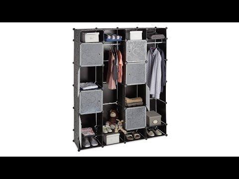 Kleiderschrank Stecksystem 20 Fächer