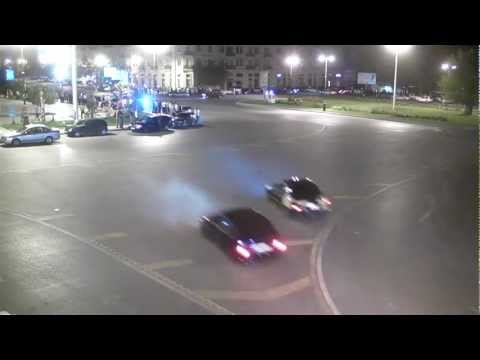 Street Racing at Night