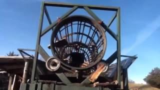 Firewood Tumbler Sorter