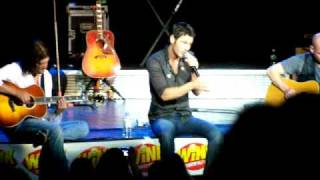 New Song by Chuck Wicks(not sure if correct title)...Over and Over again