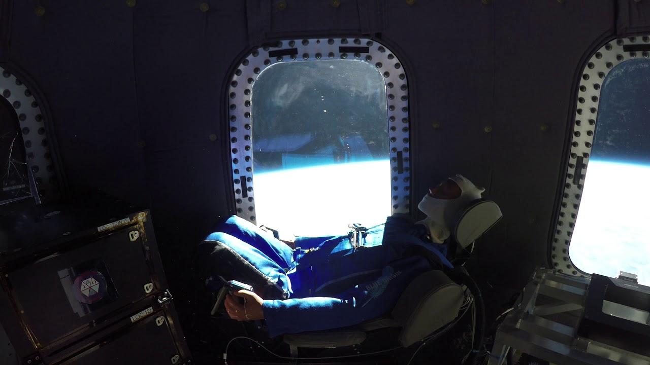 Así se ve la Tierra desde el espacio desde el interior de la cápsula – Blue Origin