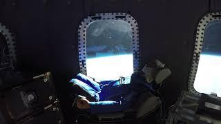 Mannequin Skywalker's ride to space onboard Crew Capsule 2.0