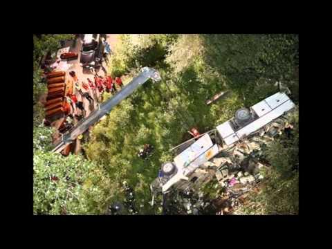 AIFVS A 16 Incidente Stradale Il Pullman della Morte 39 Vittime