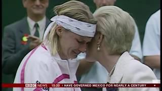 The Duchess of Kent on Wimbledon & Jana Novotná (UK) - BBC News - 2nd July 2018