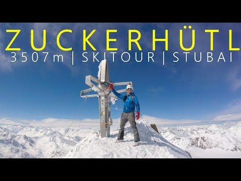 Zuckerhütl 3507m | Solo Skitour - ohne Seilbahn