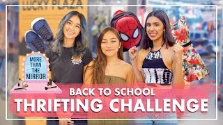 Back to School Outfits UNDER $30! - THRIFTING CHALLENGE