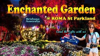 Roma Street Enchanted Garden l Brisbane Australia | Free Things to do in Brisbane
