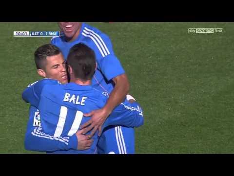 La Liga 18 01 2014   Real Betis vs Real Madrid   Cristiano Ronaldo Goal English Commentary   YouTube