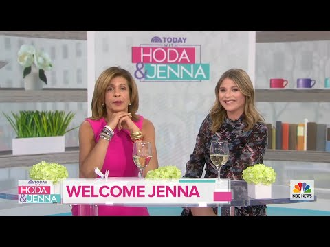 Jenna Bush Hager Makes Her Debut As TODAY's 4th Hour Co-Host! | TODAY (видео)
