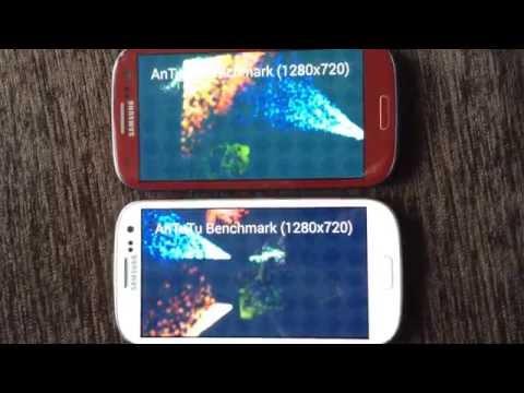 Galaxy S3 Neo GT-I9301I vs. Galaxy SIII GT-I9300 ― AnTuTu (feat. cat)