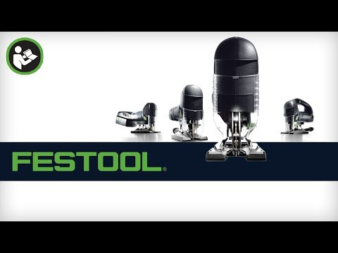 Getting Started: Festool Carvex Jigsaw - Setup and Common Uses