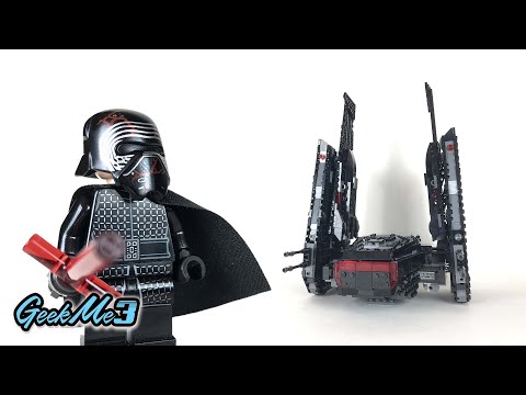 Vidéo LEGO Star Wars 75256 : La navette de Kylo Ren