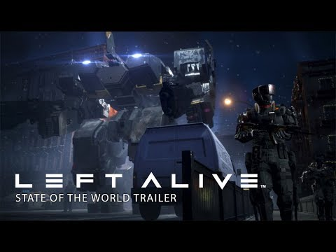 LEFT ALIVE - State of the World Trailer thumbnail