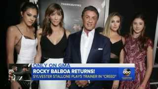 Sylvester Stallone Pulls No Punches in 'Creed' Interview