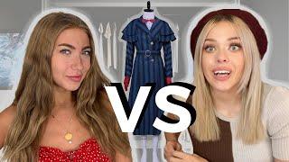 Model VS Designer - Who Can DIY A Better COSTUME?
